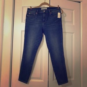 GAP Skinny Ankle Jeans NWT